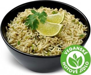 Rýže s limetkou a koriandrem