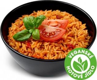 Rýže se sušenými rajčaty