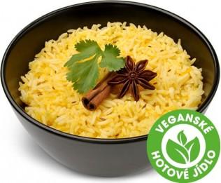 Celozrnná kari rýže s kmínem