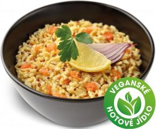 Zeleninová rýže s quinoa semínky